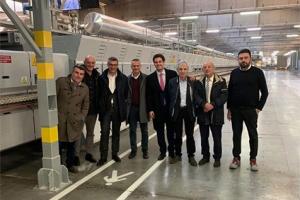 گروه Italgraniti کوره جدید +Sacmi FMA را نصب کرد